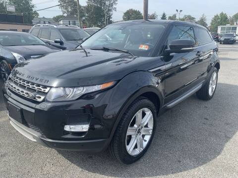 2013 Land Rover Range Rover Evoque Coupe for sale at Auto Trader Wholesale Inc in Saddle Brook NJ