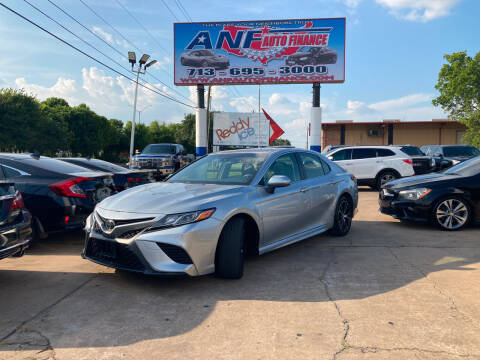 2018 Toyota Camry for sale at ANF AUTO FINANCE in Houston TX