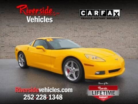 2005 Chevrolet Corvette for sale at Riverside Mitsubishi(New Bern Auto Mart) in New Bern NC