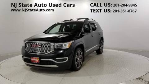 2017 GMC Acadia for sale at NJ State Auto Auction in Jersey City NJ