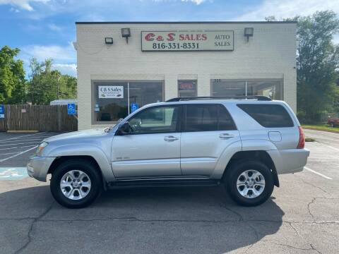 2005 Toyota 4Runner for sale at C & S SALES in Belton MO