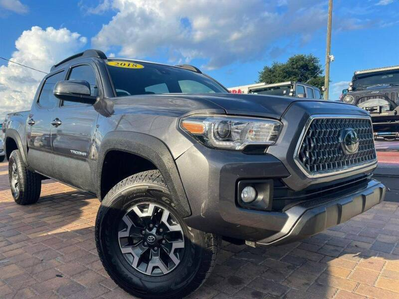 2018 Toyota Tacoma for sale at Cars of Tampa in Tampa FL