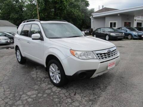 2012 Subaru Forester for sale at St. Mary Auto Sales in Hilliard OH