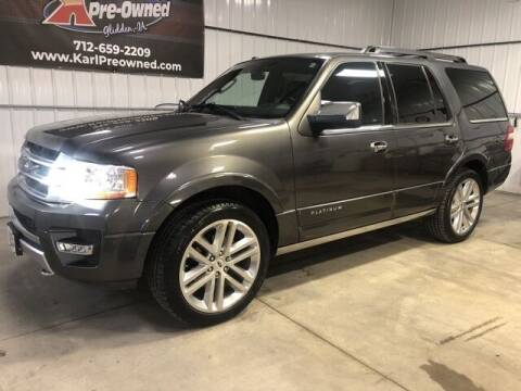 2015 Ford Expedition for sale at Karl Pre-Owned in Glidden IA