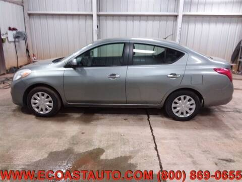 2012 Nissan Versa for sale at East Coast Auto Source Inc. in Bedford VA