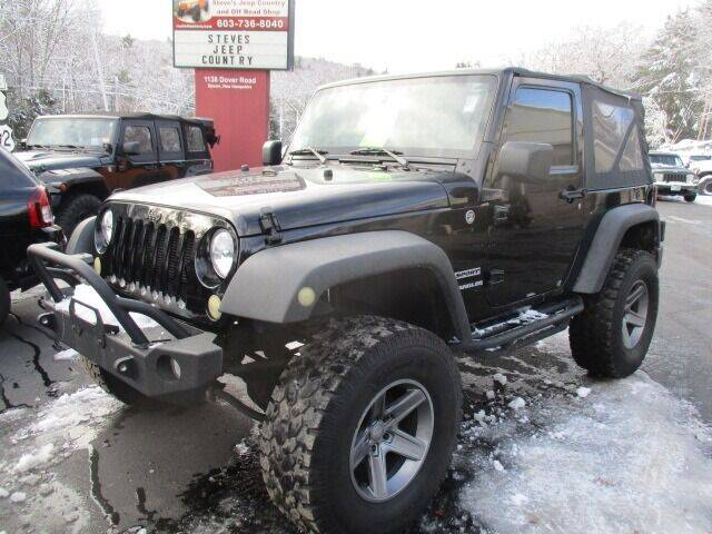 2012 Jeep Wrangler for sale at Route 4 Motors INC in Epsom NH