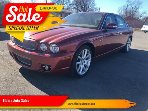 2008 Jaguar XJ-Series for sale at Elders Auto Sales in Pine Bluff AR