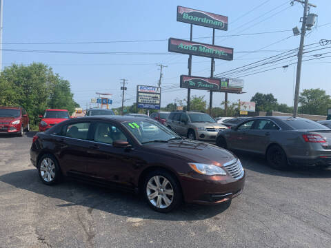 2013 Chrysler 200 for sale at Boardman Auto Mall in Boardman OH