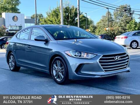 2018 Hyundai Elantra for sale at Ole Ben Franklin Motors Clinton Highway in Knoxville TN