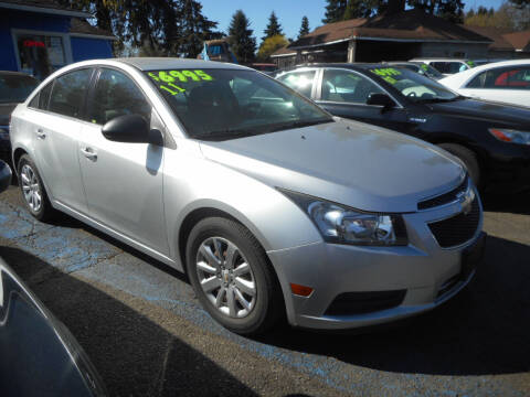 2011 Chevrolet Cruze for sale at Lino's Autos Inc in Vancouver WA