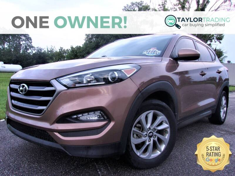2016 Hyundai Tucson for sale at Taylor Trading in Orange Park FL