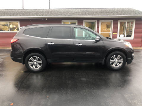 2017 Chevrolet Traverse for sale at N & J Auto Sales in Warsaw IN