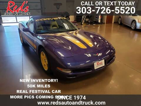 1998 Chevrolet Corvette for sale at Red's Auto and Truck in Longmont CO