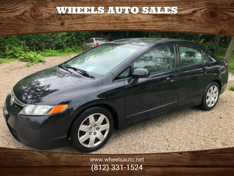 2008 Honda Civic for sale at Wheels Auto Sales in Bloomington IN