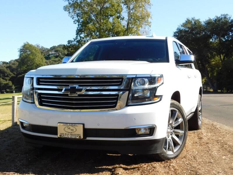2017 Chevrolet Suburban for sale at Milpas Motors in Santa Barbara CA