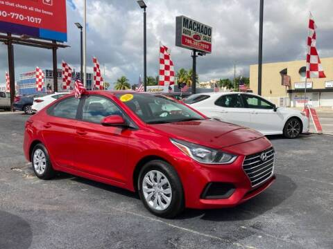 2020 Hyundai Accent for sale at MACHADO AUTO SALES in Miami FL