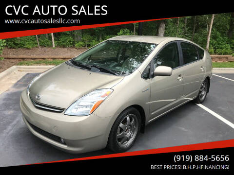 2009 Toyota Prius for sale at CVC AUTO SALES in Durham NC
