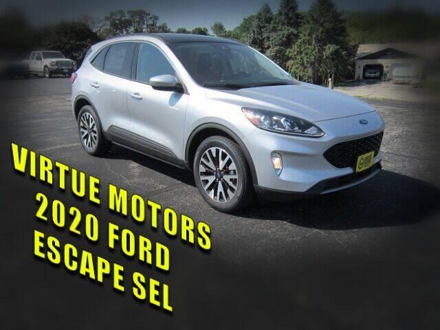 2020 Ford Escape for sale at Virtue Motors in Darlington WI