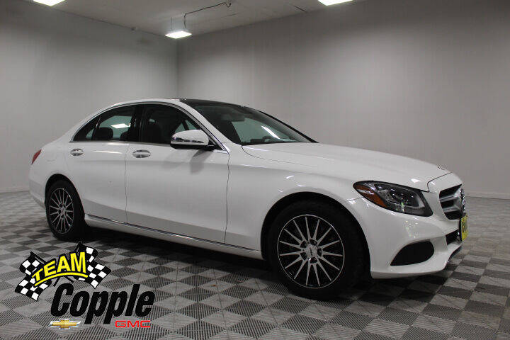 2017 Mercedes-Benz C-Class for sale at Copple Chevrolet GMC Inc in Louisville NE