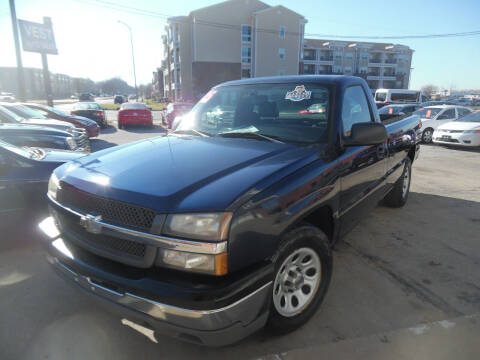 2005 Chevrolet Silverado 1500 for sale at VEST AUTO SALES in Kansas City MO