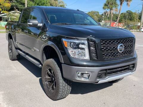 2017 Nissan Titan for sale at Consumer Auto Credit in Tampa FL