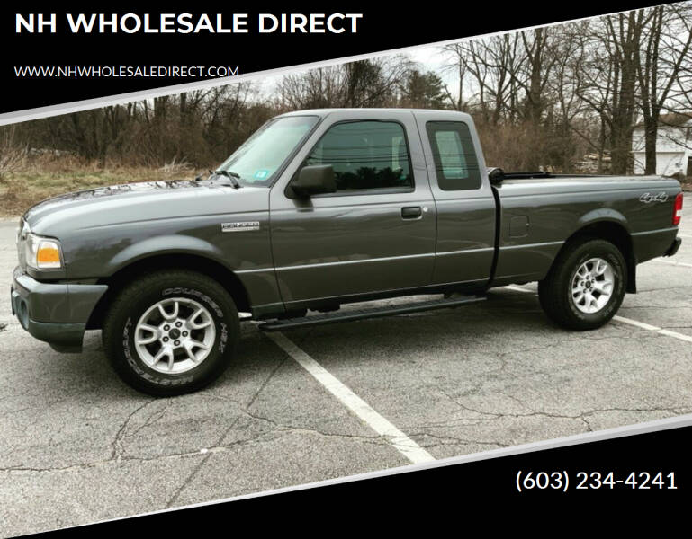 2011 Ford Ranger for sale at NH WHOLESALE DIRECT in Derry NH