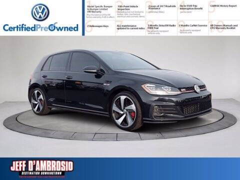 2018 Volkswagen Golf GTI for sale at Jeff D'Ambrosio Auto Group in Downingtown PA
