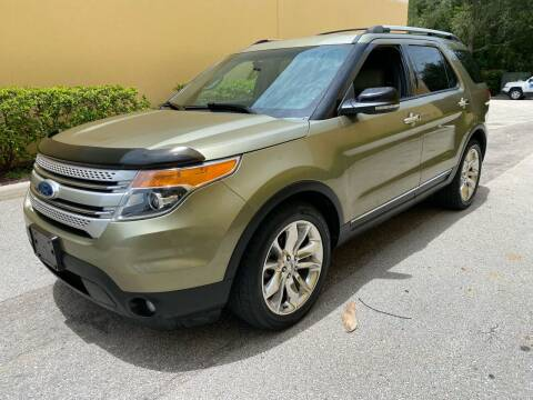 2012 Ford Explorer for sale at DENMARK AUTO BROKERS in Riviera Beach FL