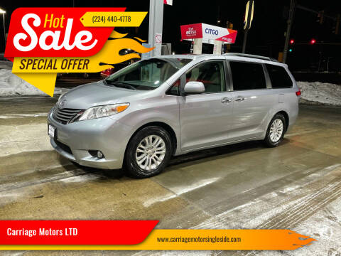 2011 Toyota Sienna for sale at Carriage Motors LTD in Ingleside IL