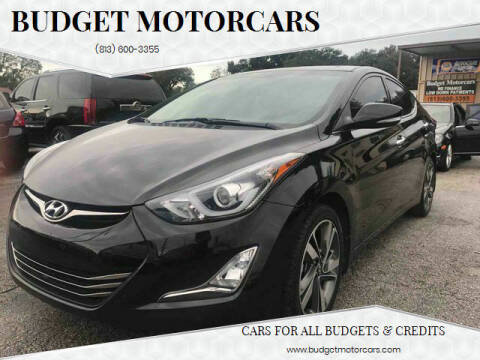 2015 Hyundai Elantra for sale at Budget Motorcars in Tampa FL