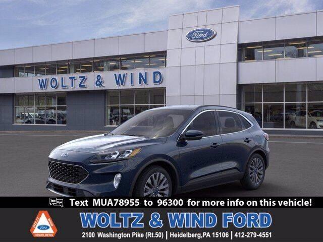2021 Ford Escape for sale in Heidelberg, PA