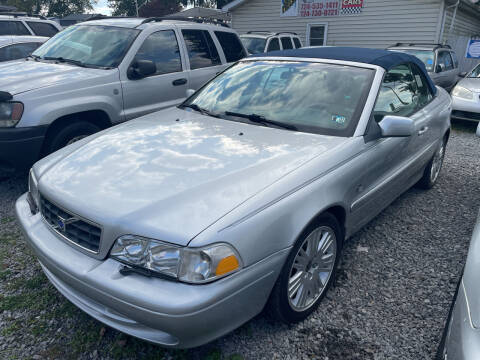 2004 Volvo C70 for sale at Trocci's Auto Sales in West Pittsburg PA