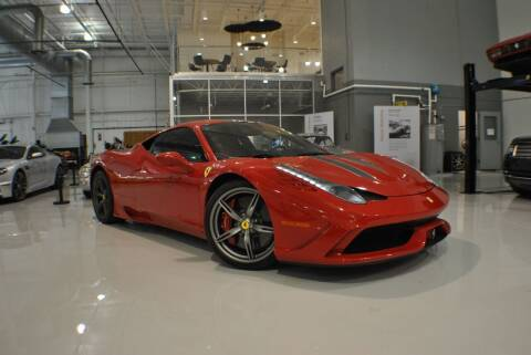 2014 Ferrari 458 Speciale for sale at Euro Prestige Imports llc. in Indian Trail NC