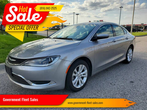 2016 Chrysler 200 for sale at Government Fleet Sales in Kansas City MO