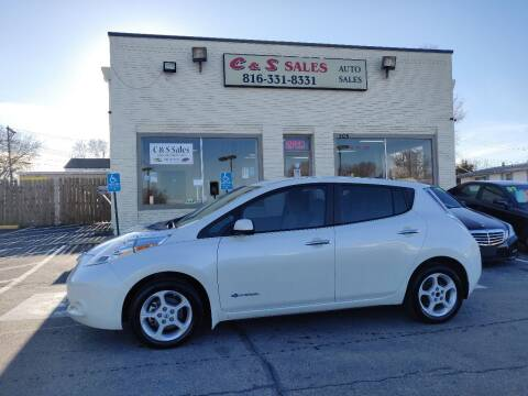 2013 Nissan LEAF for sale at C & S SALES in Belton MO
