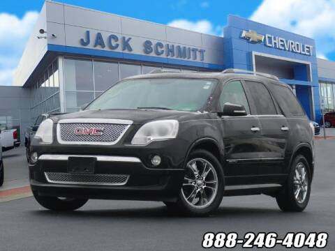 2012 GMC Acadia for sale at Jack Schmitt Chevrolet Wood River in Wood River IL