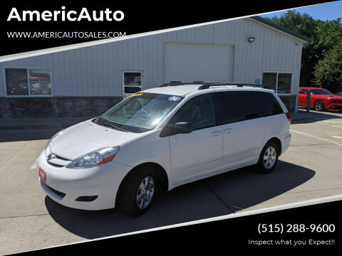 2008 Toyota Sienna for sale at AmericAuto in Des Moines IA