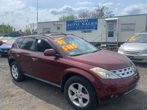 2005 Nissan Murano for sale at Noah Auto Sales in Philadelphia PA