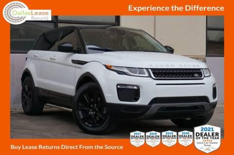 2016 Land Rover Range Rover Evoque for sale at Dallas Auto Finance in Dallas TX