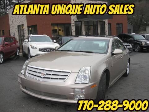 2006 Cadillac STS for sale at Atlanta Unique Auto Sales in Norcross GA