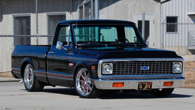 1972 Chevrolet C/K 10 Series for sale at Drummond MotorSports LLC in Fort Wayne IN