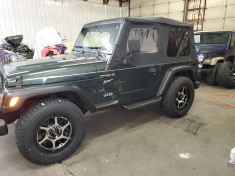 2002 Jeep Wrangler for sale at Grace Motors in Evansville IN