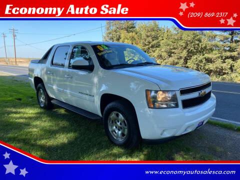 2008 Chevrolet Avalanche for sale at Economy Auto Sale in Modesto CA