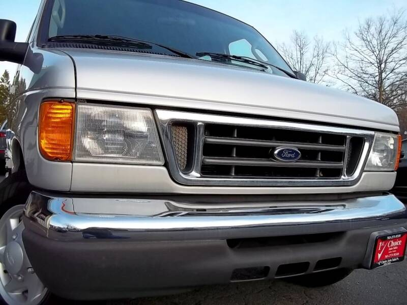 2007 Ford E-Series Wagon for sale at 1st Choice Auto Sales in Fairfax VA
