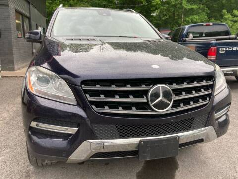 2012 Mercedes-Benz M-Class for sale at Apple Auto Sales Inc in Camillus NY