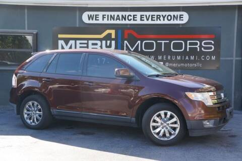 2010 Ford Edge for sale at Meru Motors in Hollywood FL