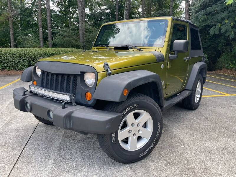 2007 Jeep Wrangler for sale at Selective Imports in Woodstock GA