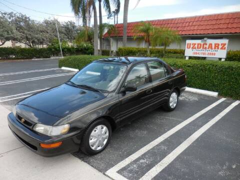 1997 Toyota Corolla for sale at Uzdcarz Inc. in Pompano Beach FL