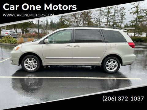 2004 Toyota Sienna for sale at Car One Motors in Seattle WA