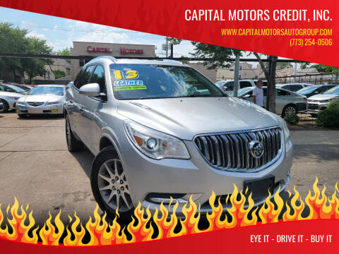 2013 Buick Enclave for sale at Capital Motors Credit, Inc. in Chicago IL